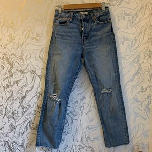 Levi's Jeans - Levi's Wedgie Straight In Two Minds size 26